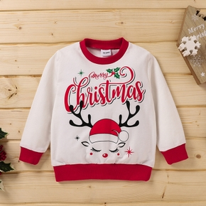 Baby Unisex casual Pullovers Christmas Fashion Cotton Long Sleeve Infant Clothing Outfits