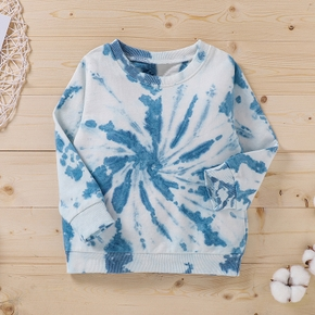 Baby / Toddler Tie-dye Long-sleeve Pullover