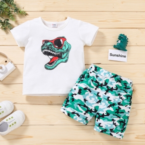 Baby / Toddler Dinosaur Tee and Shorts Set