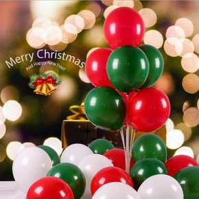 Christmas Balloons Xmas Ornaments Latex Balloons Christmas Decorations For Merry Christmas Gift Happy New Year