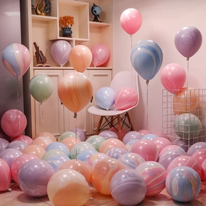 """Party Pastel Balloons 50Pcs 10"""" Macaron Latex Balloons for Birthday Wedding Engagement Anniversary Christmas Festival Party - Multi-color"""