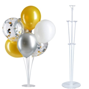 Birthday Party and Wedding Decoration Splicing Transparent Table Floating Support Balloon Display Stand Balloon Pole