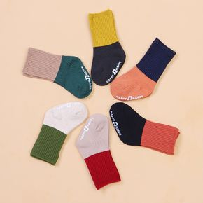 Baby / Toddler Colorblock Middle Socks