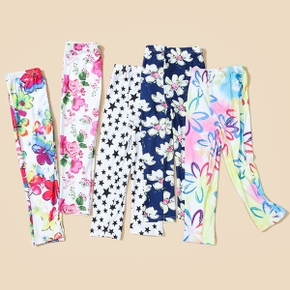 Baby / Toddler Girl Floral Pattern Leggings