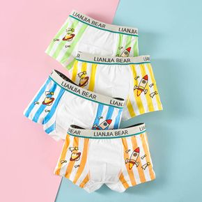 4-Pack Baby / Toddler Boy Rocket Stripe Underwear