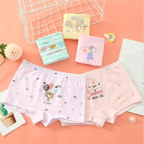 5pcs Toddler Girl Cotton Animal Pajama Pants Knickers