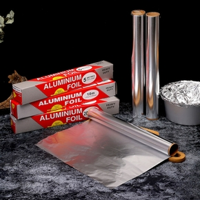 5M/10M Tinfoil Oilpaper Aluminum Foil Baking Barbecue Oven Grill Paper Wrapper Cooking BBQ Tools