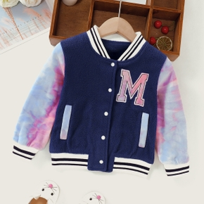 1pc Toddler Unisex Long-sleeve casual Letter Coats & Jackets