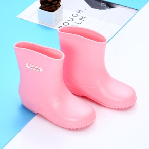 Toddler / Kid Solid Letter Rain Boots