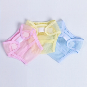 Summer Baby Washable Cloth Diaper Cover Mesh Thin Breathable Newborn Baby Diapers Reusable Cloth Nappies