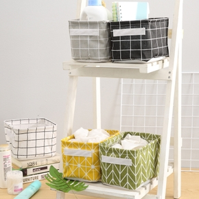 Cube Folding Laundry Basket For Kids Toy Storage Basket Sundries Books Lego Pet Toys Organizer Clothes Storage Bag Box