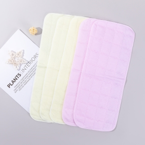 10 Pcs Baby Bedding Cotton Thicken Newborn Diaper Pad Washable Three-layer Waterproof Changing Pads Infant Crib Supplies