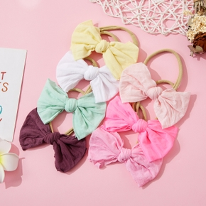 Baby / Toddler / Kid Solid Bowknot Hairband