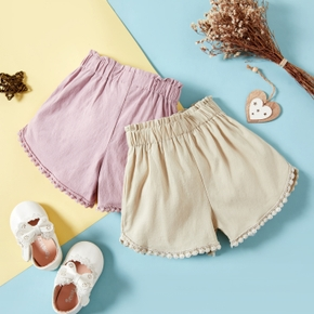 Baby Girl casual Shorts Solid Baby Clothes