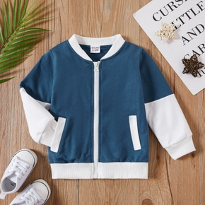 1pc Baby Girl Long-sleeve Cotton Sports Coat & Jacket