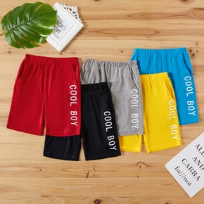Toddler Boy Multicolor Solid Casual Shorts