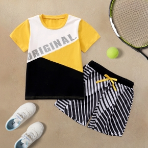 'Original' Short-sleeve top and Shorts Athleisure Set for Toddlers / Kids