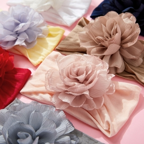 Baby / Toddler / Kid Solid Flower Hairband