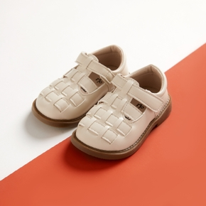 Toddler / Kid Solid Ripped Velcro Closure Prewalker Shoes