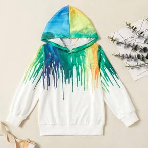 Fashionable Graffiti Hooded Sweatshirt
