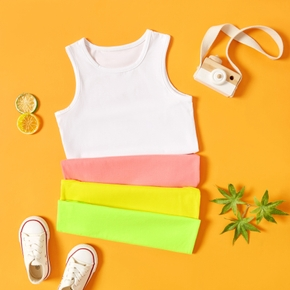 Baby / Toddler Casual Solid Colorful Camisole
