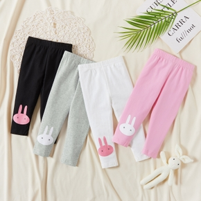 Cartoon Print Rabbit Lovely Leggings