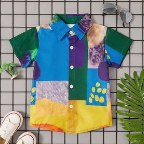Toddler Fashionable Print Summer Shirt