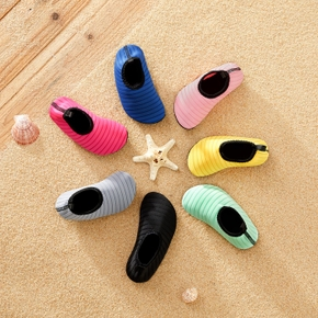 Solid Athleisure Water Beach Shoes for Toddlers/Kids