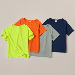 Kid Boy Quick Dry Multi-color T-shirt
