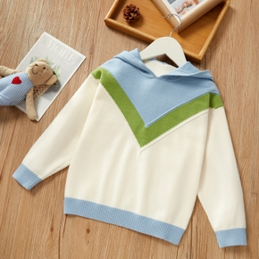 Baby / Toddler Striped Hooded Long-sleeve Sweater