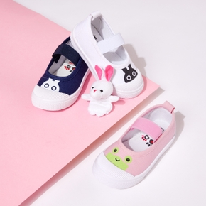 Toddler / Kid Cartoon Animal Canvas Casual Shoes