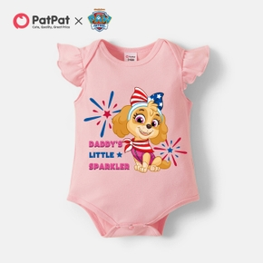 """PAW Patrol """"Daddy's Little Sparkle"""" Cotton 4th of July Bodysuit"""