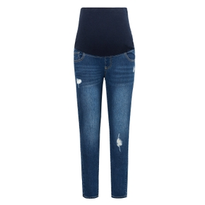 Maternity casual Plain Blue jeans