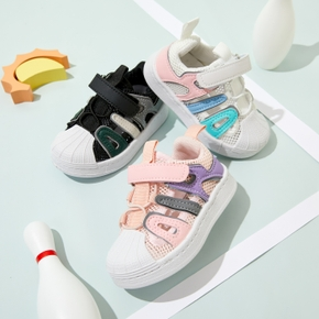 Toddler / Kid Letter Velcro Closure Breathable Sports Shoes