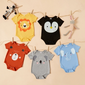 1pc Baby Unisex casual Animal Rompers & Bodysuits