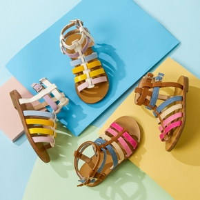 Toddler / Kid Colorful Strappy Sandals