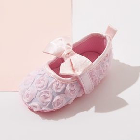 Baby / Toddler Pretty Bowknot Rose Decor First Walkers Shoes
