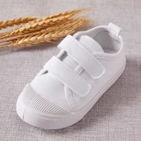 Toddler / Kid Solid Velcro Closure Canvas Shoes