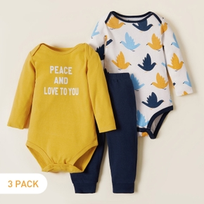 3-pack Peace Dove Baby's Sets