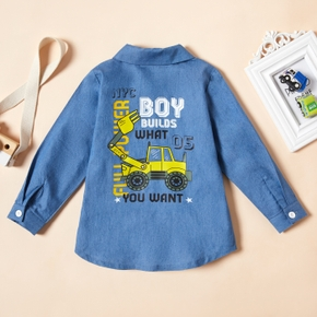 Toddler Boy Denim Shirt