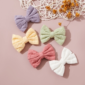 Pretty Solid Bowknot Hairband for Girls