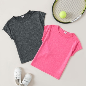 Solid Basic Short-sleeve Tee for Toddlers / Kids