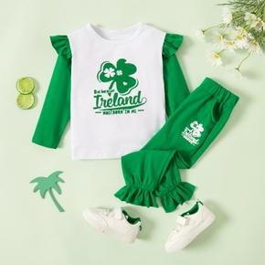 2-piece Baby / Toddler Clover Set of St. Patrick's Day