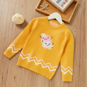 Baby / Toddler Cutie Striped Long-sleeve Sweater
