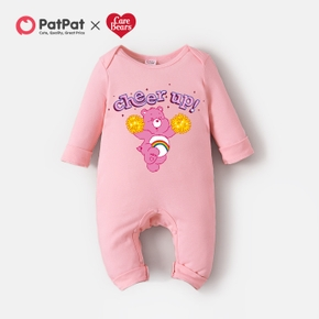 Care Bears Baby Girl Cheer Up 100% Cotton Jumpsuit One Piece