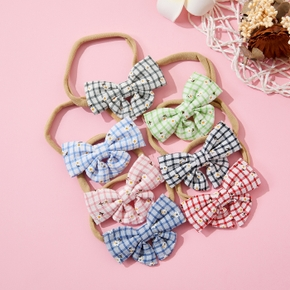 Baby / Toddler / Kid Grid Bowknot Hairband