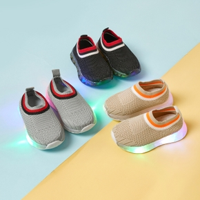 Toddler / Kid LED Breathable Sports Shoes