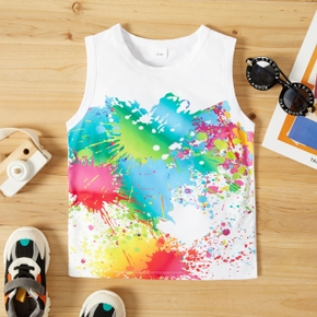 Toddler Casual Tie Dyed Print Camisole