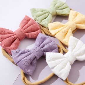 Baby / Toddler / Kid Solid Floral Bowknot Hairband