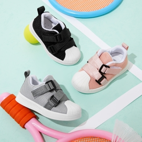 Toddler / Kid Velcro Closure Breathable Canvas Shoes